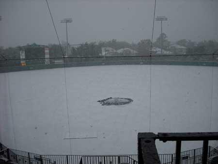 Yep, we play baseball on here