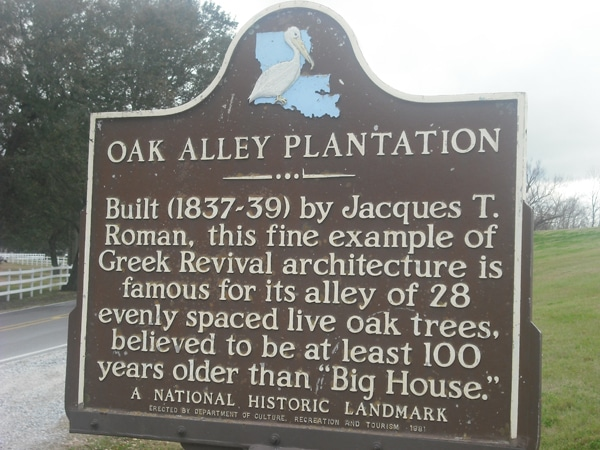 The story of Oak Alley