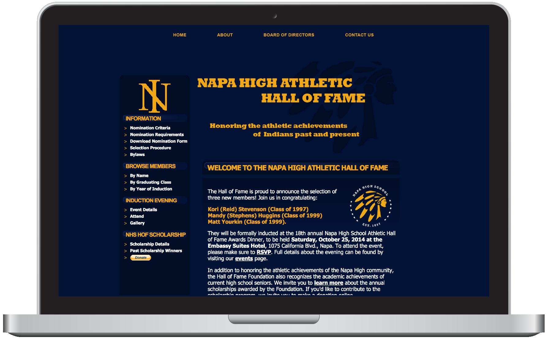 Napa High Hall of Fame