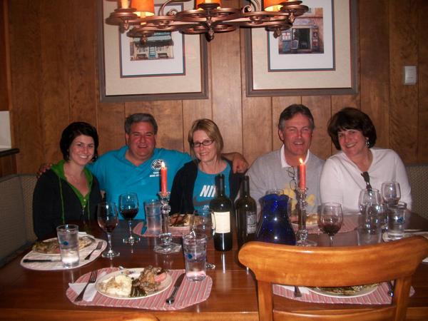 The dinner crew