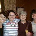 Jane, Leigh, G-Sal and Mom