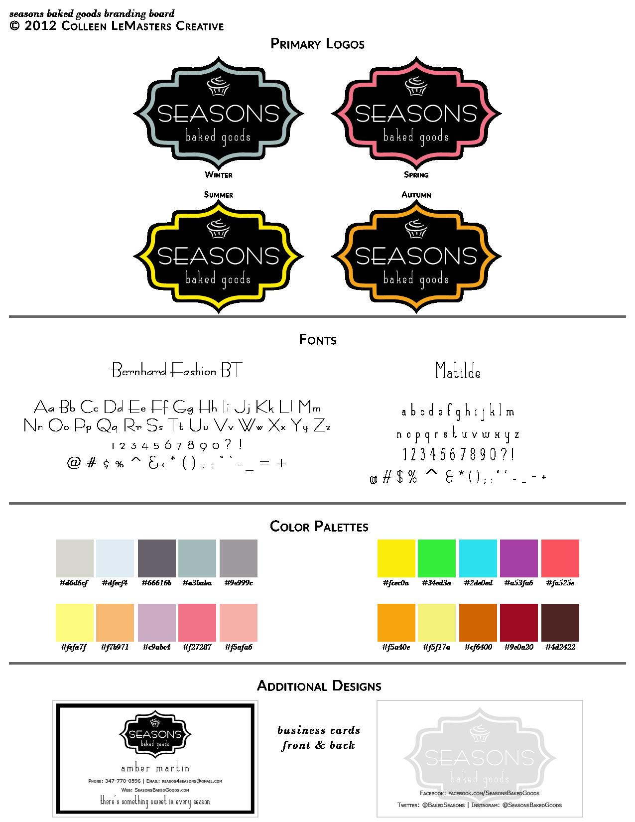 Seasons Baked Goods