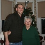 Dave and his G-ma