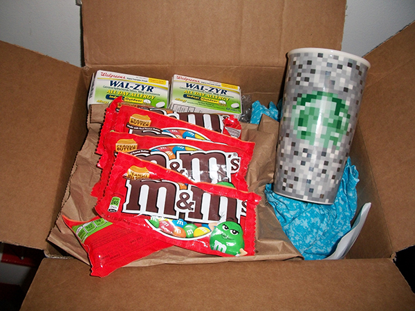 My care package