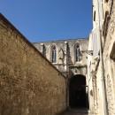 Church windows in Arles