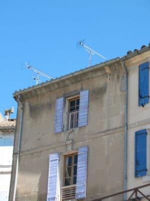 windows in Arles