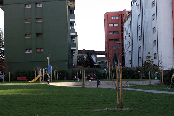 Udine park around the corner