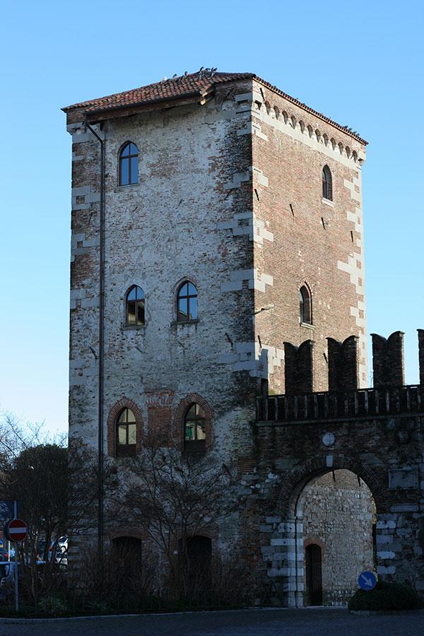 Udine city walls