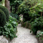 Pathway aside the Udine Castle