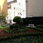 Small park by the Udine Cathedral