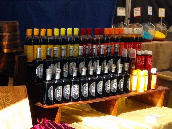 A selection of Balsamic from Modena