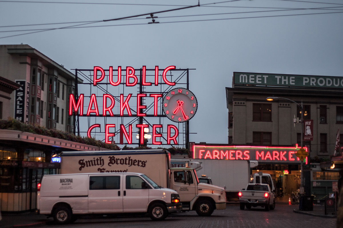 beating the crowds // Pike Place Market