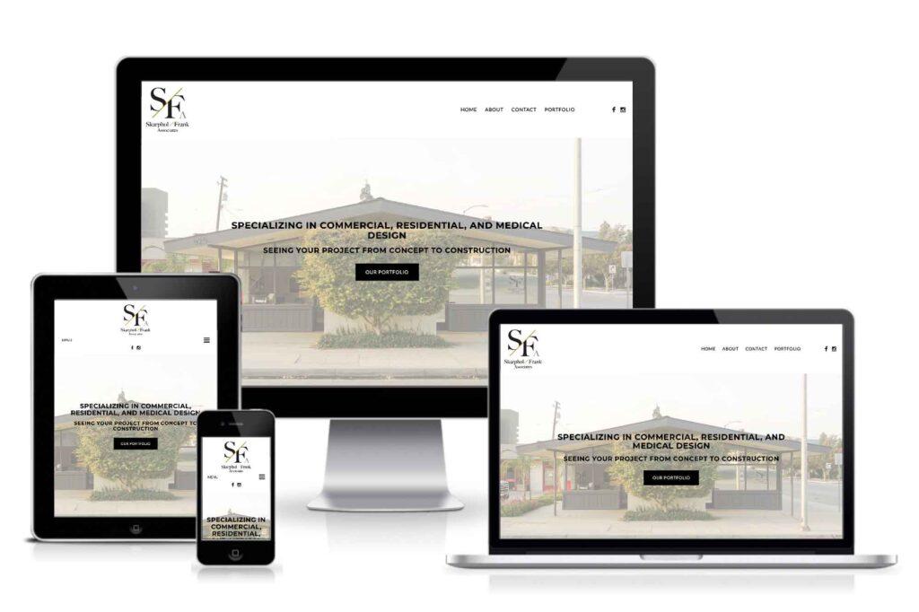 Skarphol Frank responsive site